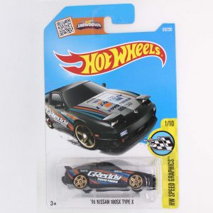 1:64 Hot Wheels '96 Nissan 180SX Type X. (176/250) Image 1
