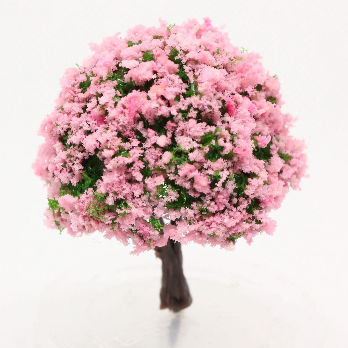Model Tree flowering - 4cm Image 1