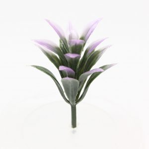 Model plant (Green and Purple) suit bush, grass, shrub etc - 3cm Image 1