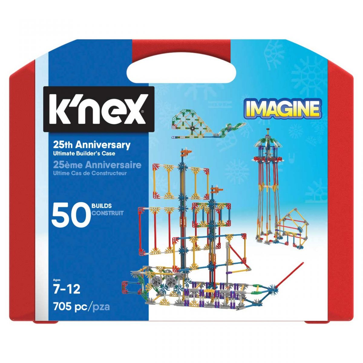 K'NEX 25th Anniversary Ultimate Builders Case (4M-KN35013)