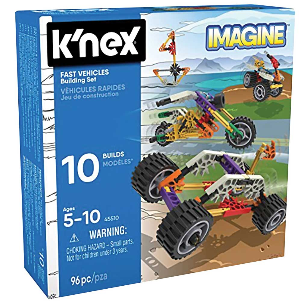 K'NEX Fast Vehicles Building Set (4M-KN45510)