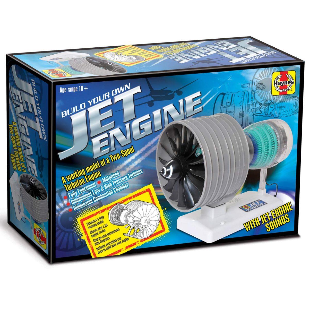 Haynes Jet Engine Two Spool Turbo Fan (4M-HMJE01) Image 2