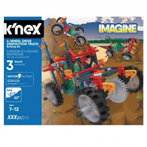 K'nex Mountain Climber Truck Building Set (4M-KN13026)