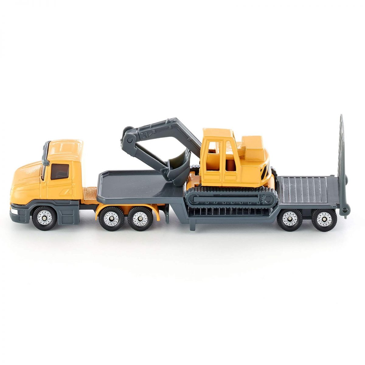 Siku – Low Loader With Excavator (4M-SI1611) Image 1